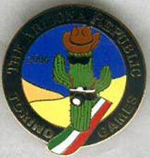 Torino 2006 Olympic Arizona Republic newspaper media Snowboarding Cactus pin