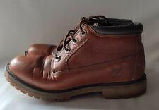 TIMBERLAND Anti-Fatigue Tan Leather Waterproof Walking/Hiking Boots ~ UK 5