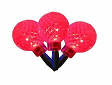 UltraLED Battery Operated Rasberry Twinkle Light String, Red, 3.5-Feet