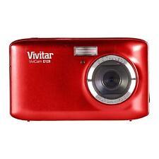 Vivitar E128 18.1mp Compact Digital Camera - Red.