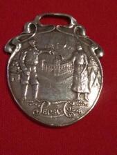 VINTAGE ORIGINAL STERLING PEPSI COLA ADVERTISING WATCH FOB 1907 JAMESTOWN EXPO
