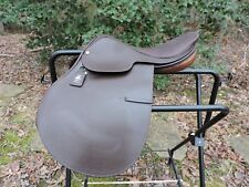 """New Lovatt & Ricketts 16"""" Close Contact Saddle Made in Walsall England"""