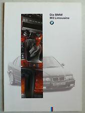 Prospekt BMW - M3 (E 36) Limousine, 2.1994, 8 Seiten