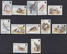 SOUTH GEORGIA : 1999  Birds definitive set 1p-£5 SG294-305 MNH