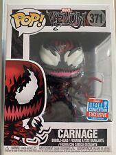 #371 Funko Pop Vinyl Marvel Carnage Tendrils Venom Comics NYCC Hot Topic