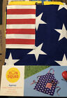 American Flag Grilling Kitchen Red White Blue APRON Fourth 4th of July Patriotic