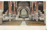 Hampshire Postcard - Lyndhurst Church -  Interior - New Forest - Ref 20400A