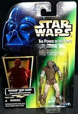 Vintage Star Wars Power of the Force WEEQUAY SKIFF GUARD (1996) New! Kenner