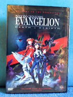 Neon Genesis Evangelion - Movie: Death&Rebirth / FACTORY SEALED / POSTER INSIDE