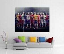 Dream Team Elite 11 Ronaldo Neymar Dempsey Gigante Pared Arte Foto impresión de cartel j99