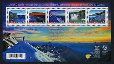 Canada 2718 MNH UNESCO World Heritage Sites
