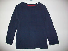 Boys Old Navy 100% Cotton Blue Long Sleeve Top