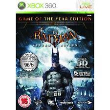 Batman: Arkham Asylum (Microsoft Xbox 360 probado, 2009)