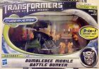 2011 Transformers Dark of the Moon Cyberverse Bumblebee Mobile Battle Bunker MIB