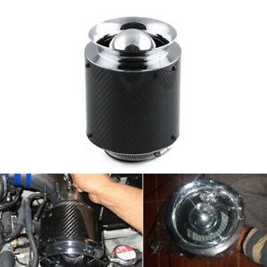 7inch/175mm Carbon Fiber Look Hi-Flow Air Filter For Cold Air/Short Ram Intakes