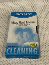Sony Video Head Cleaner T-6 CLDL VHS SVHS