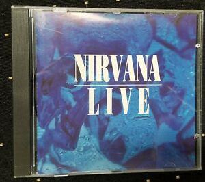 Nirvana Live European Import OG RARE Kurt Cobain Dave Grohl Foo Fighters