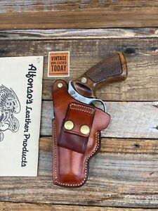 """Alfonsos Of Hollywood Leather OWB IWB Holster For 2"""" S&W Chiefs Special Mod 36 J"""