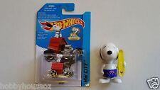 Hotwheels Snoopy & 1991 Snoopy McDonalds Surfer