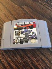 F-1 World Grand Prix Nintendo 64 N64 Game Cart Tested Good Works NE5