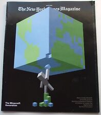 The New York Times Magazine, April 17, 2016 - Minecraft Generation, Donald Trump