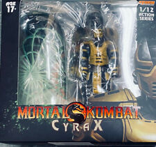 Storm Collectibles Mortal Kombat Vs Series Cyrax 1/12 Scale Figure - Sealed new!
