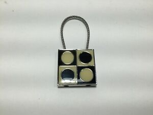 """Vintage ACME Studio """"Geometri"""" Key Ring by Verner Panton"""