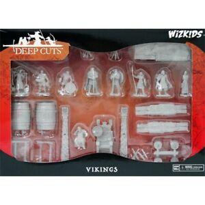 Wizkids Unpainted Deep Cuts Miniatures Vikings