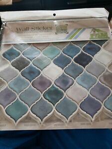 FAM STICKTILES Peel and stick kitchen tiles Backsplash, Peel and stick 5 sheets
