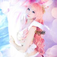 85CM Long Pink ONE PIECE Princess Shirahoshi Lolita Girls Anime Cosplay Hair Wig