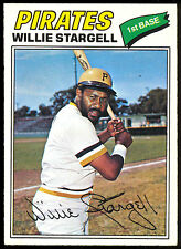 1977 TOPPS OPC O PEE CHEE BASEBALL #25 WILLIE STARGELL EX-NM PITTSBURGH PIRATES
