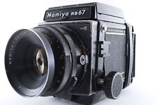 """""""EXC +4"""" Mamiya RB67 Pro S + Sekor C 127mm f/3.8 + 120 Film Back from Japan 8990"""