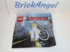 NEW LEGO Ninjago Movie Master Wu Mini Figure Key Chain 5004915 Factory Sealed