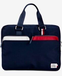Tommy Hilfiger Men's City Navy Blue Briefcase
