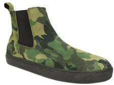 Steve Madden Men's Dalston Casual Sneakers Green Camouflage Size 10.5 M
