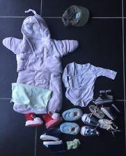 Lot de vêtements naissance garçon nid d'ange la redoute, casquette..