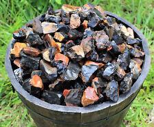 500 Carat Lot Bulk Natural Rough Black Onyx Rock (Crystal Healing Raw) 100 Grams