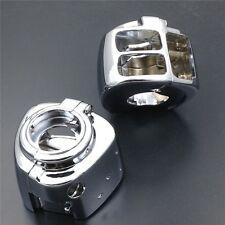 For Harley Sportster Dyna Softail V-Rod 2002-2010 CHROME Switch Housing Cover
