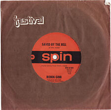 ROBIN GIBB (BEE GEES) - SAVED BY THE BELL Very rare 1969 Aussie Single Release!