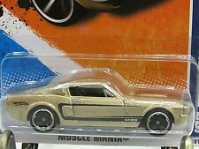 HOT WHEELS VHTF 2011 MUSCLE MANIA SERIES 67 SHELBY GT-500