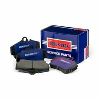 REAR BRAKE PADS SET BORG & BECK FOR PORSCHE BOXSTER CONVERTIBLE 2.7 162KW