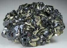 Fine PYRITE crystals with Sphalerite * Animon Mine * Peru