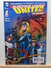 Justice League United #1 D.C. Universe Comics CB4386