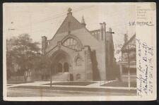 Postcard Cleveland Ohio/Oh Hough Avenue Congregational Church view 1906