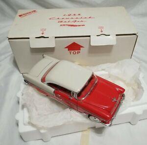Danbury Mint large 1:16 scale 1955 Chevrolet Bel Air hardtop model mint!