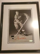 GORDIE HOWE SIGNED AUTO DETROIT RED WINGS UPPER DECK UDA 8X10 PHOTO AUTOGRAPHED