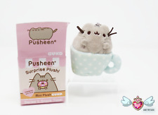 "GUND Series 1 Pusheen Blind Box Plush ""Snack Time!"" - Teacup (Cup)"