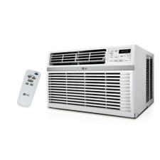 LG Electronics 24,500 BTU 230-Volt Window Air Conditioner with Remote in White