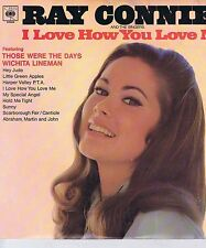 Ray ConniffI Love How You Love MeLP MONOCBS / 63565UK/68