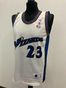 Washington Wizards #23 Jordan Trikot Jersey Shirt CHAMPION NBA (S) men's maglia